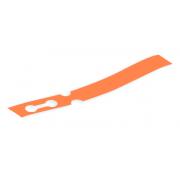 100 x Orange Self-Tie Loop Lock Plant Tags