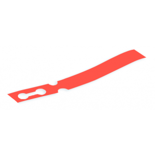 100 x Red Self-Tie Loop Lock Plant Tags