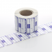 50mm x 25mm Blue Electrical Safety PAT Test Labels (500 roll)