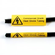Q-HST254YW - Yellow Heat Shrink Tubing - 25.4mm