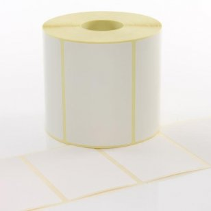 Q-L100125TT25 - White Paper Thermal Transfer Labels 100mm x 125mm