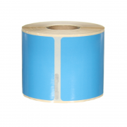 Q-L10154DTBU - Blue Multi Purpose labels 220 labels per roll 101mm x 54mm