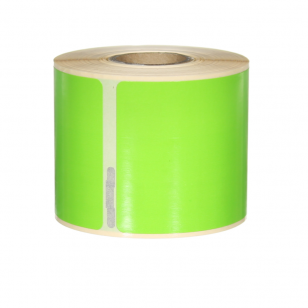 Q-L10154DTGN - Green Multi Purpose labels 220 labels per roll 101mm x 54mm