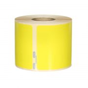 Q-L10154DTYW - Yellow Multi Purpose labels 220 labels per roll 101mm x 54mm