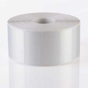 Q-L4515MPSIL25 - Matt Silver Polyester Labels 45mm x15mm