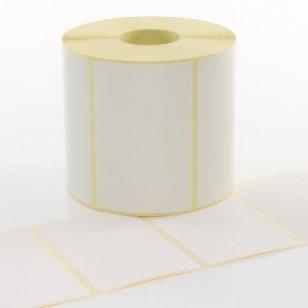 Q-L7650TT25 - White Paper Thermal Transfer Labels 76mm x 50mm