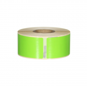 Q-L8928DTGN - Green Standard Address labels 260 labels per roll 89mm x 28mm
