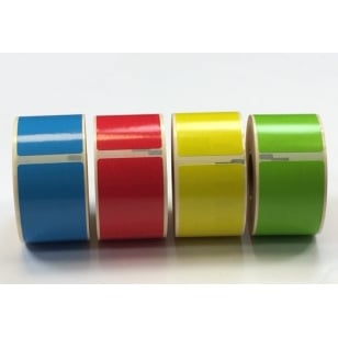 Q-L8928DTRBYG - Standard Address Labels Rainbow Pack - 4 rolls