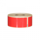 Q-L8928DTRD - Red Standard Address Labels - 260 labels per roll 89mm x 28mm