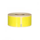 Q-L8928DTYW - Yellow Standard Address labels 260 labels per roll 89mm x 28mm