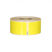 Q-L8928DTYW - Yellow Standard Address labels 260 labels per roll 89mm x 28mm