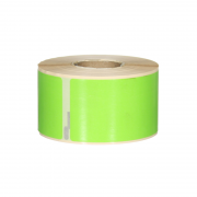 Q-L8936DTGN - Green Multi Purpose labels 260 labels per roll 89mm x 36mm