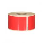 Q-L8936DTRD - Red Multi Purpose labels 260 labels per roll 89mm x 36mm