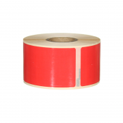 Q-L8936DTRD - Red Multi Purpose labels 260 labels per roll 89mm x 36mm