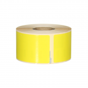 Q-L8936DTYW - Yellow Multi Purpose labels 260 labels per roll 89mm x 36mm