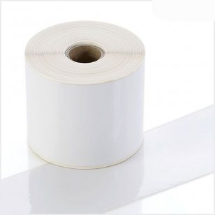 Q-POLY075WT White Continuous Polyester Rolls 75mm x 40m