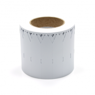 Q-PT11525WT - White Stick In Plant Tag 115mm x 25mm
