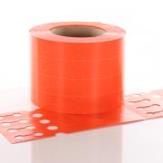 Q-PT19125PORANGE Orange Self-Tie Loop-Lock Tag