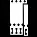 Q-PT19125PP200B Blue Self-Tie Loop-Lock Tag