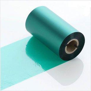 Q-R110GNI Green Industrial LabelStation Print Ribbon 110mm x 300m