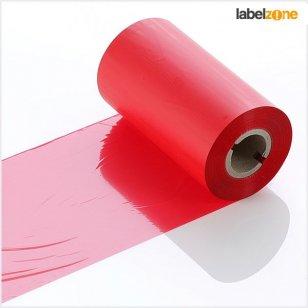 Q-R110RDG Red General Purpose LabelStation Print Ribbon 110mm x 300m