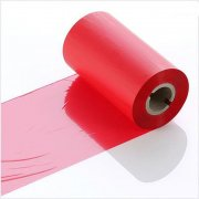 Q-R110RDI Red Industrial LabelStation Print Ribbon 110mm x 300m