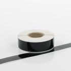 Q-V025BK Black Continuous Vinyl Rolls 25mm x 40m