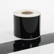 Q-V075BK Black Continuous Vinyl Rolls 75mm x 40m