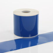 Q-V075BU Blue Continuous Vinyl Rolls 75mm x 40m