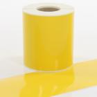 Q-V100YW Yellow Continuous Vinyl Rolls 100mm x 40m
