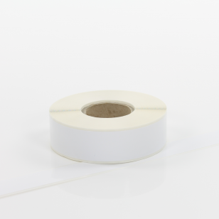Q-VR025WT White Continuous Removable Vinyl Rolls 25mm x 40m