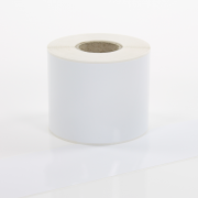 Q-VR075WT White Continuous Removable Vinyl Rolls 75mm x 40m
