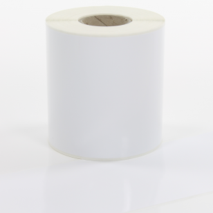 Q-VR100WT White Continuous Removable Vinyl Rolls 100mm x 40m